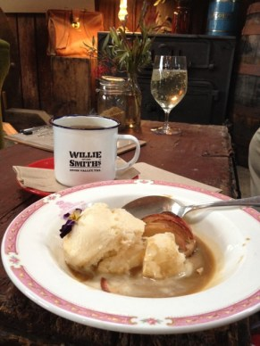 Mulled cider and an Apple Rillette - a heavenly winter treat at the Apple Shed
