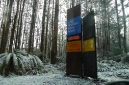 Lake Mountain Alpine Resort Entrance sign