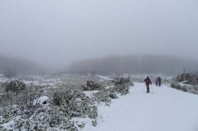 Not much snow across Echo Flat