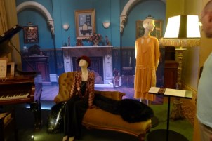 Phryne and Dot in the living room
