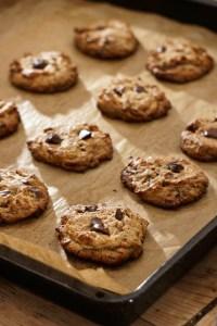 Chocolate Chip PB Cookies