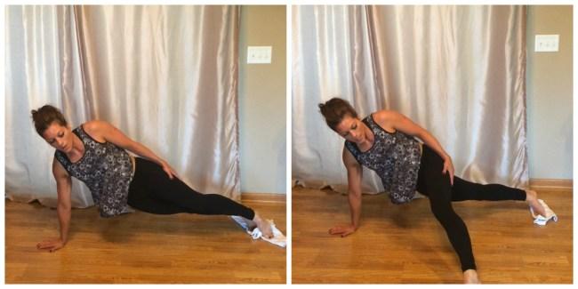 Side Plank=Slider