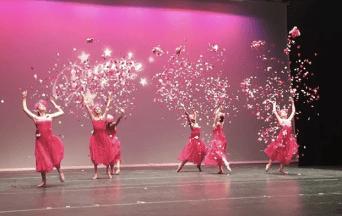 'Blush and Bashful' Group Dance