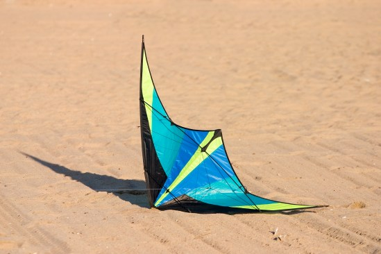 Kite on Ground