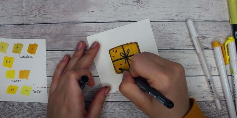 การ์ดอวยพรวันเกิดของคุณยายด้วยมือของคุณเอง