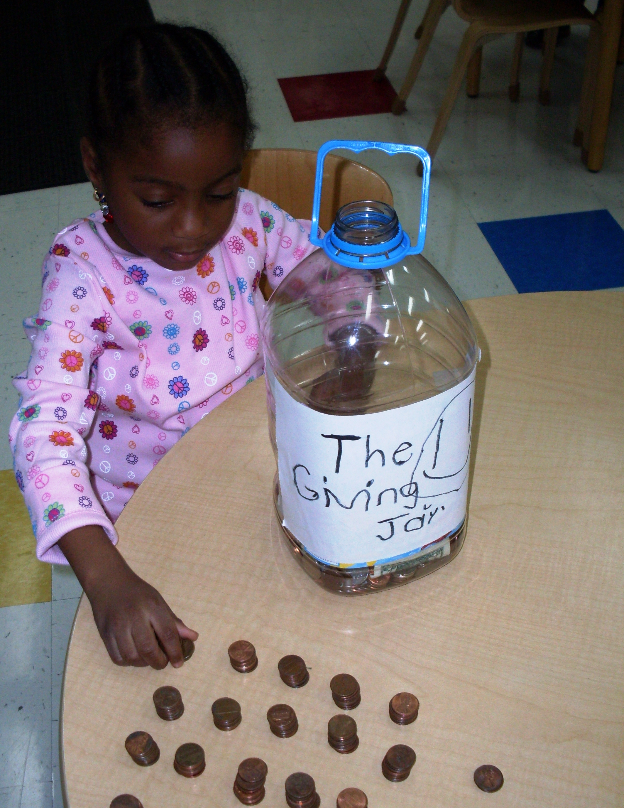 Benny S Pennies Help Teach Day Nursery Students To Live