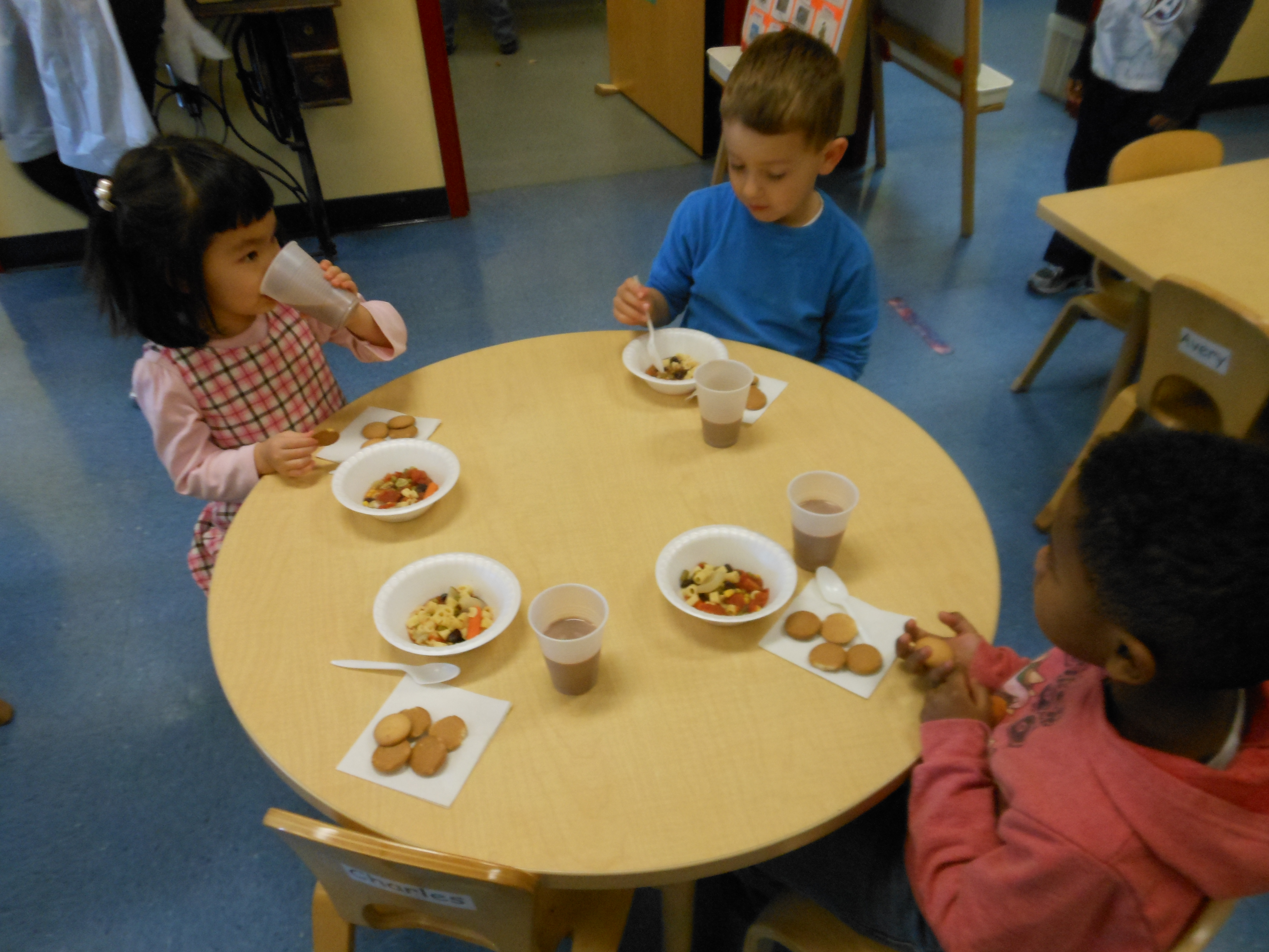 Stone Soup Provides Day Nursery Preschoolers A Delicious