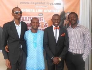 Dayo Adetiloye Live Seminar