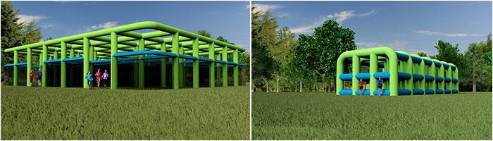 Wild Air Run Extreme Fun
