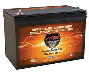 VMAX MR127 12V 100AH AGM Battery