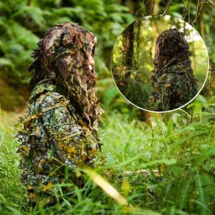 Ghillie Suit Camouflage Clothing