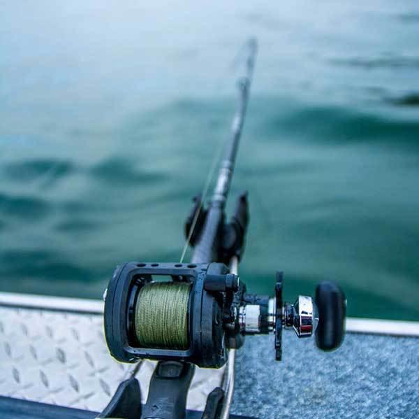 Line Capacity for Salmon Fishing Reel