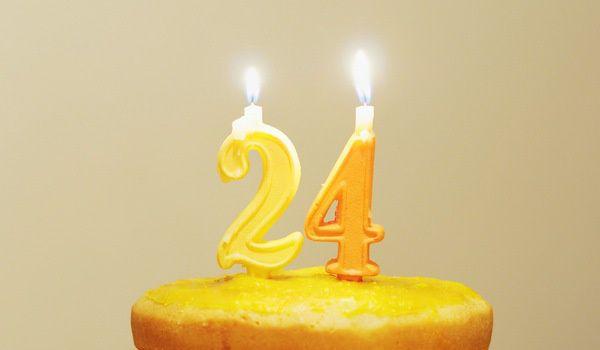 24歲生日小記