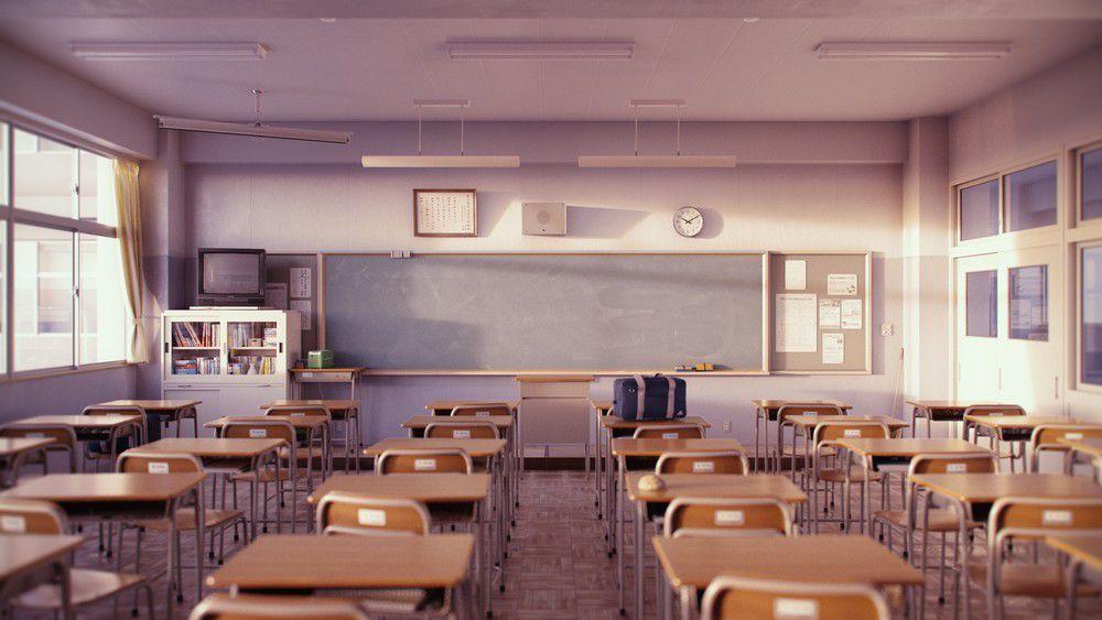 Empty Classroom by iCephei