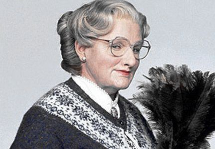 Mrs Doubtfire by Robin Williams