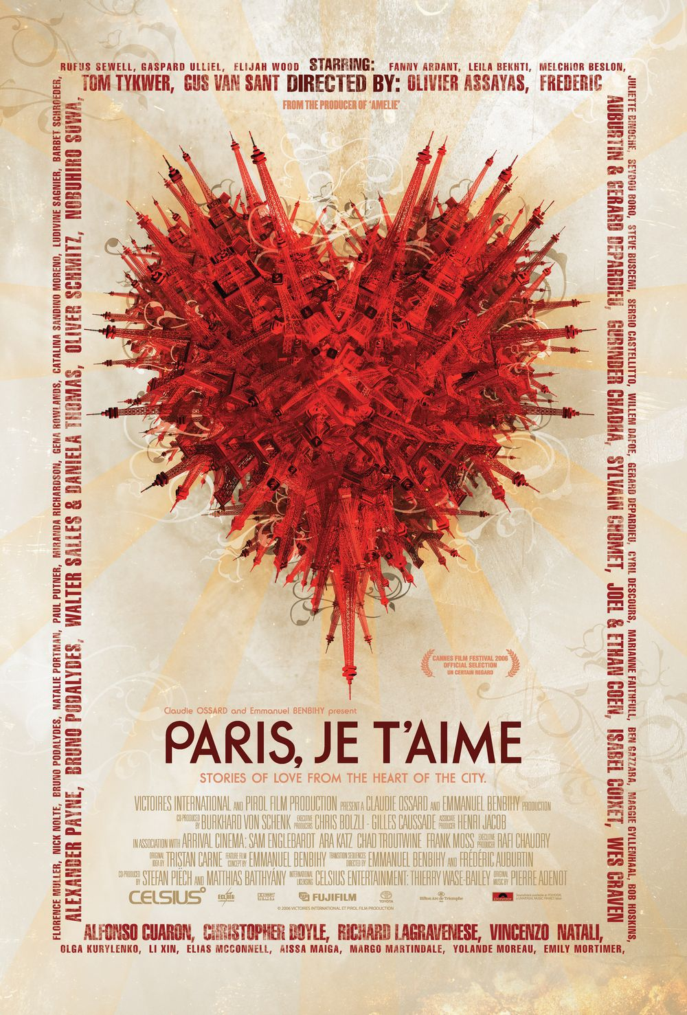 《Paris, je t'aime》 走馬看巴黎