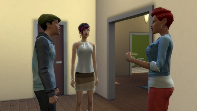 Ollie Purdue, June Kay and Cassidy Purdue move into their new home in Newcrest.