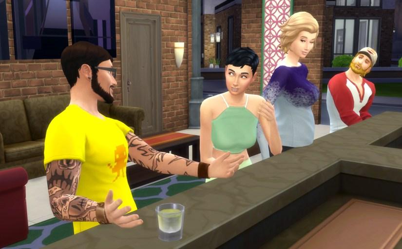 Andre and Steve visit the karaoke bar.