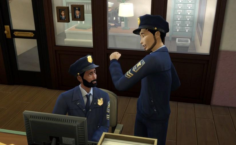 Officer Orion Sheng praises Karim's work ethic.