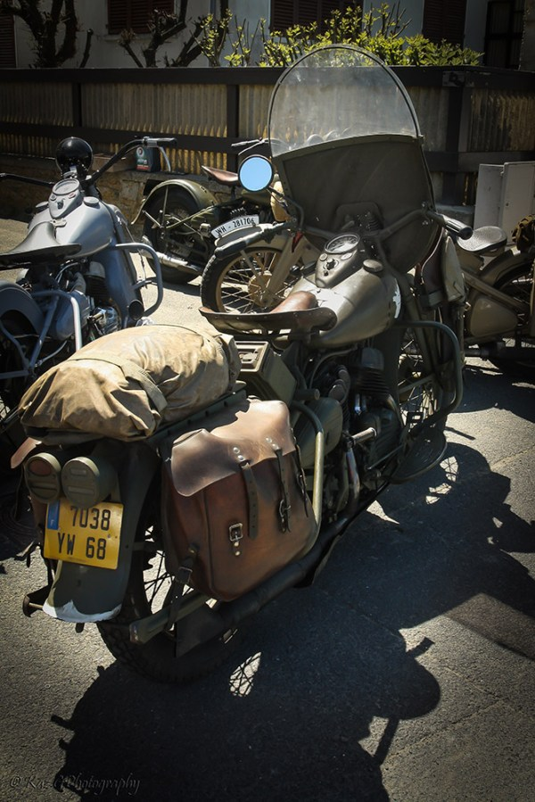 Army motor cycle transport DDay beaches