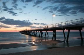 Glenelg pier sunset Friday3