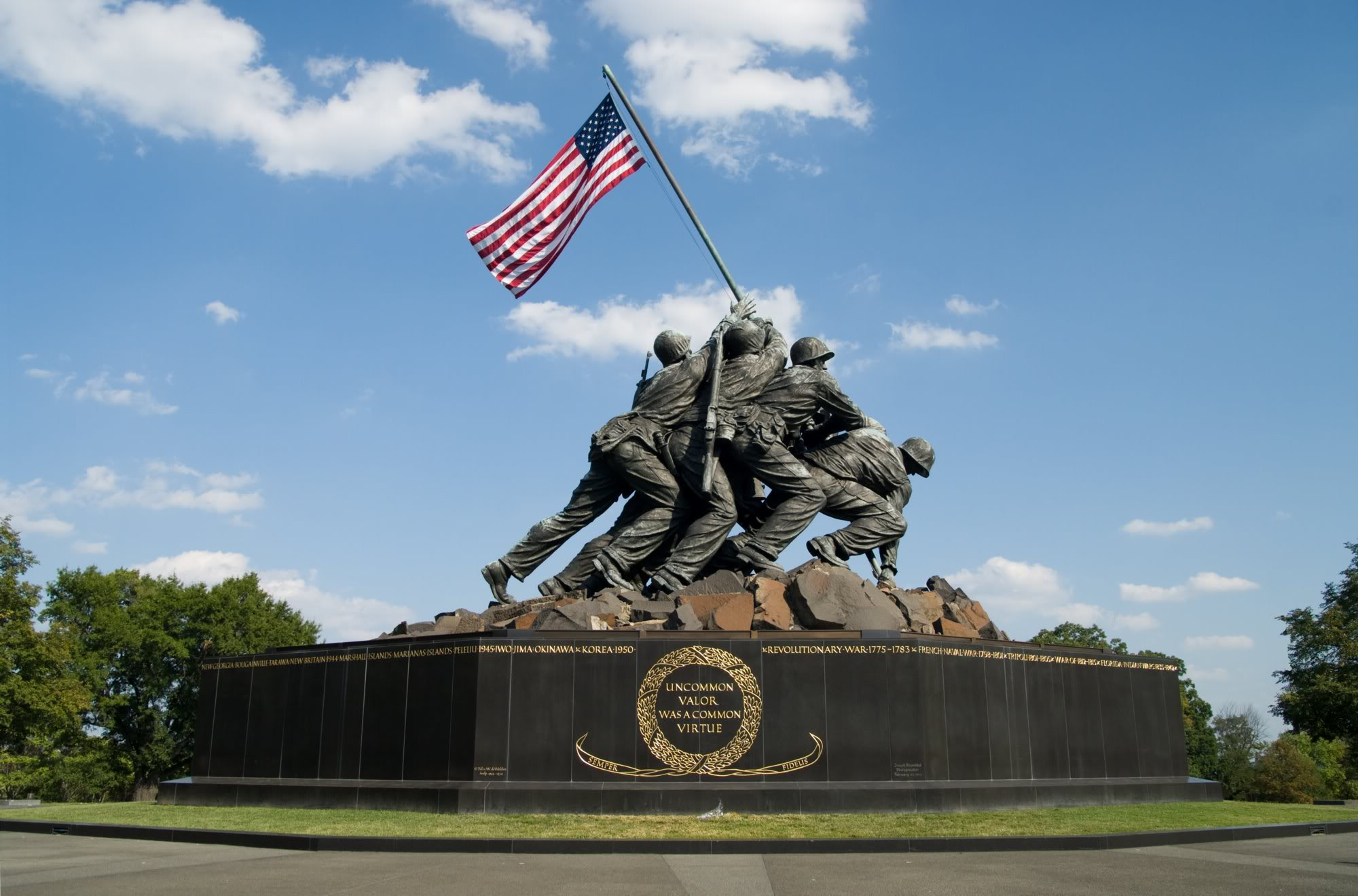 Image result for iwo jima memorial dc