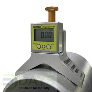 Centre Punch with Digital Inclinometer