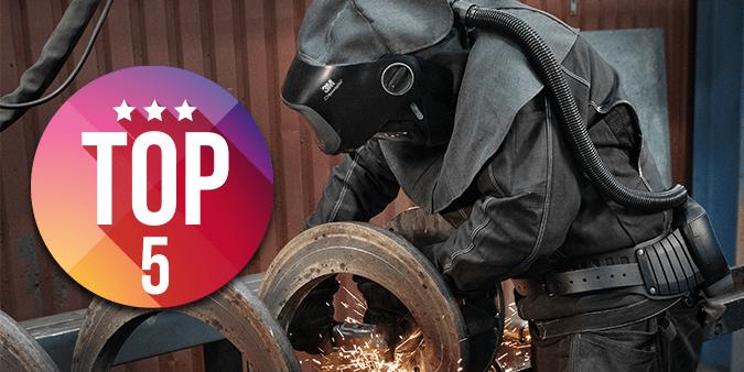 5 reasons to choose a Speedglas Welding Helmet with Adflo PAPR!