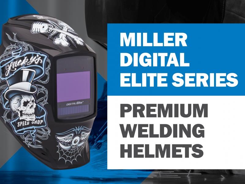 Miller Digital Elite Auto-Darkening Welding Helmets