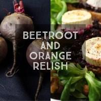 Beetroot and Orange Relish