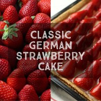 Classic German Strawberry Cake