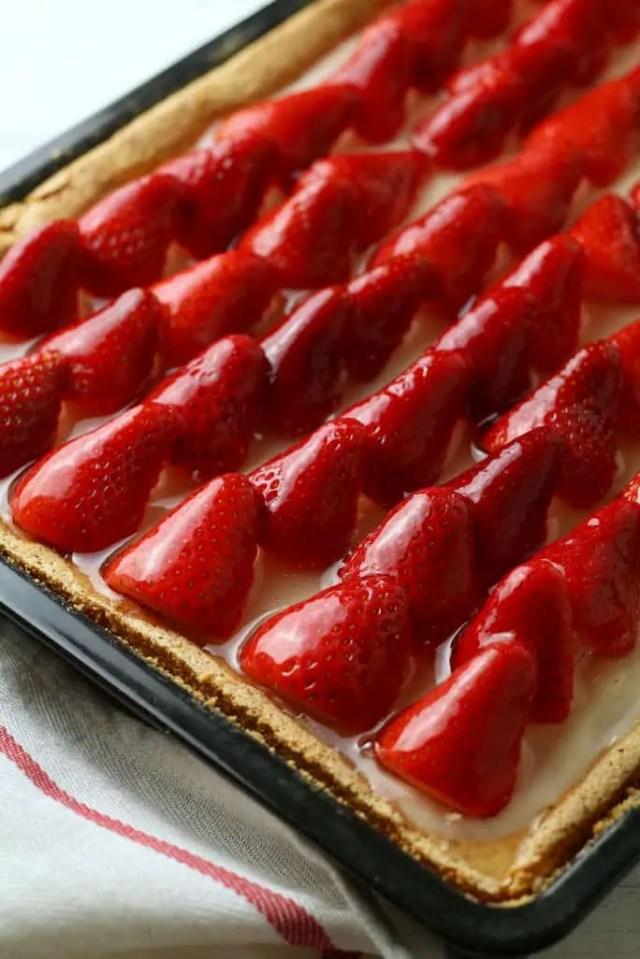 Classic German Strawberry Cake