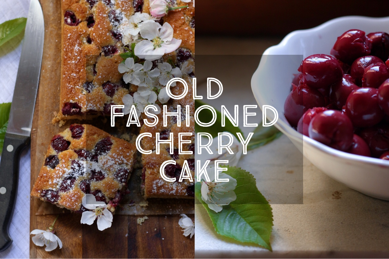 Old Fashioned Cherry Cake