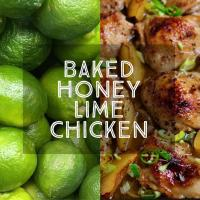 Baked Honey Lime Chicken