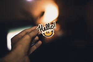 hello sign