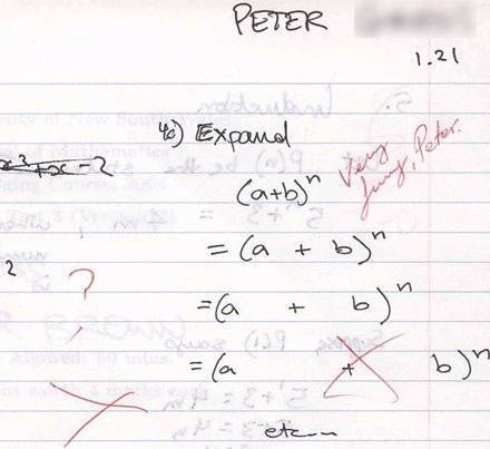 Silly answers to serious exam questions (2/5)