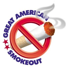 Great American Smokeout - when is world no-smoking day, and when is the great american smoke out?