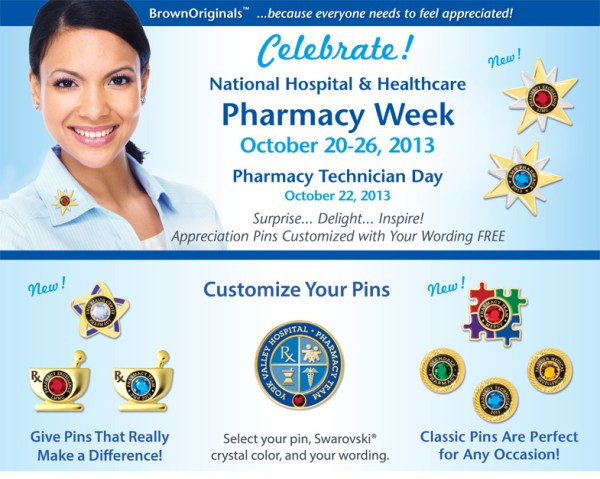 Hospital and Health System Pharmacy Week - Brown Originals
