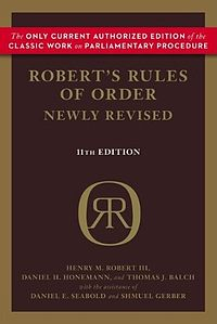 Roberts Rule of Order Day - as stated in roberts rules of order--what is the proper way to remove a president of an