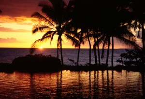 National Share A Sunset With Your Lover Month - Hawaiian sunsets are