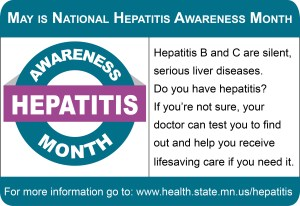 National Hepatitis Awareness Month