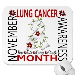 Lung Cancer Awareness Month - Which months are cancer awareness months?