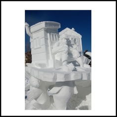 US National Snow Sculpting Week - claudiacote.com. The Budweiser