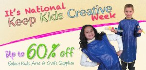 National Keep Kids Creative Week - How can a 13yr old make $3000 in 2yrs?
