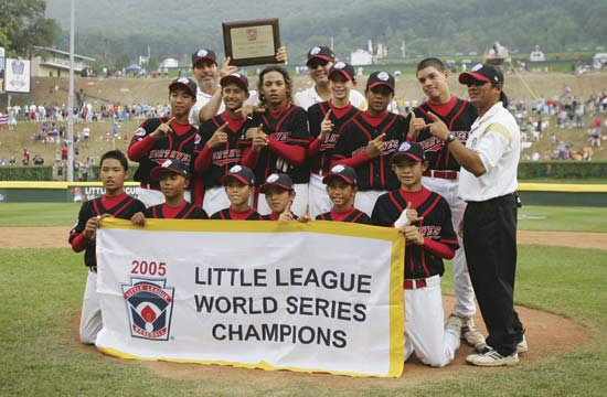 When is the little league world series of baseball and what channel?