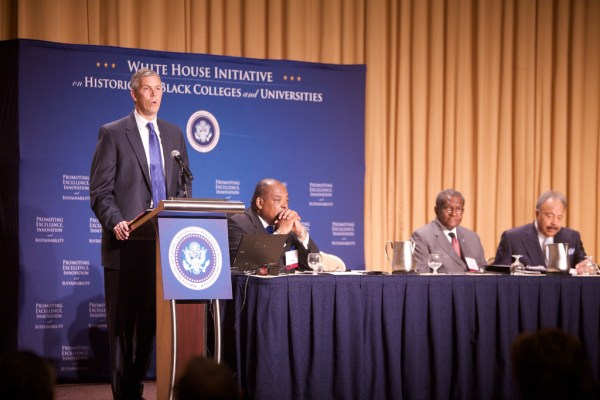Duncan Speaks on Vitality of Historically Black Colleges