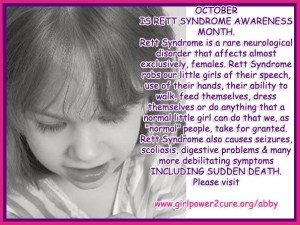 Rett Syndrome Awareness Month - Why are diseases that are found to be curablereversible in mice?