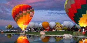 Albuquerque International Balloon Fiesta - What are some events in New Mexico that attract tourists?