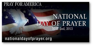 National Day of Prayer - since today is the national day of prayer?