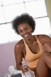 National African American Women's Fitness Month - Black women's health and